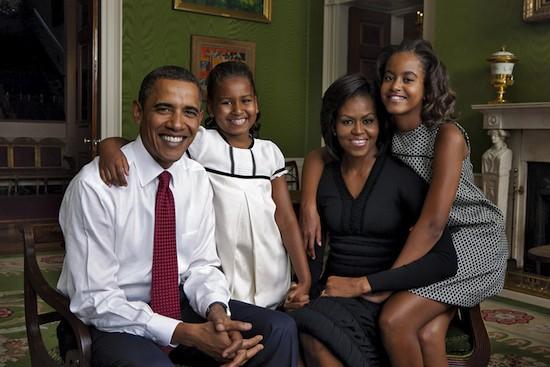 (C) Annie Leibovitz. Familia Obama