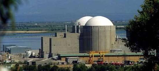 Central nuclear de Almaraz (Cáceres, España)