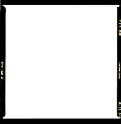 Fotograma de película de formato medio, 6 x 6 cm
