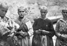 Mujeres republicanas rapadas en Andalucía