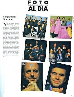 Políticos en campaña. (C) 1977 Alberto Schommer. FOTO nº 1, enero de 19832