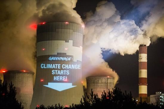 Greenpeace-cambio-climatico-Polonia