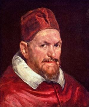 Diego Velázquez, El papa Inocencio X (detalle del rostro del papa 1)