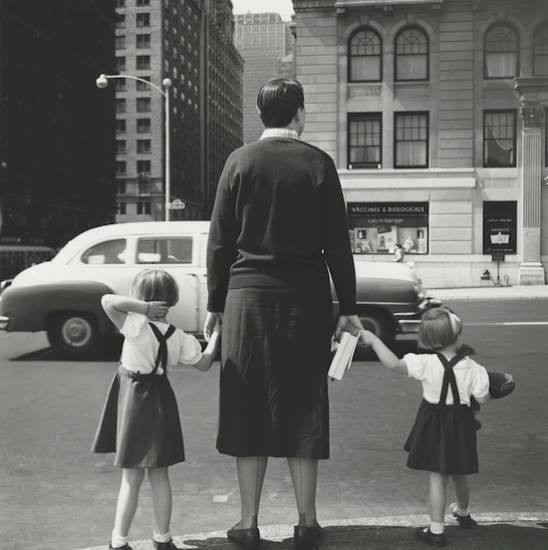 Sin título 1954©Vivian Maier Maloof Collection Courtesy Howard Greenberg Gallery New York 550 Vivian Maier: Una revelación fotográfica (1926 2009)