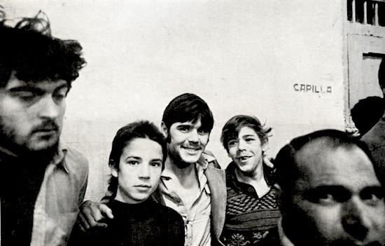 (C) Manuel López. Jóvenes reclusos en la cárcel de Carabanchel. Madrid, 1976