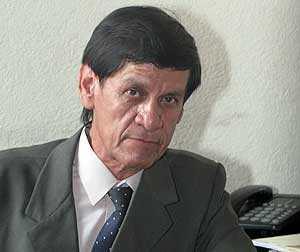 Hugo Rolando Lopez, presidente de la Asociación de Periodistas de Guatemala