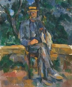 Cezanne: campesino, 1905-1906. Thyssen Bornemisza