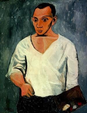Picasso-autorretrato-paleta-1906