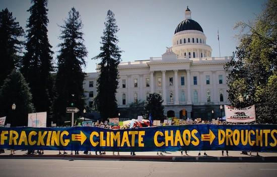 California-fracking-no-pancarta