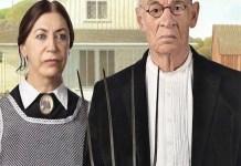 """Noelia Rojas, """"American Gothic"""". 'Femenino singular', Miradas de Mujer 2014, Casa de la Imagen"""