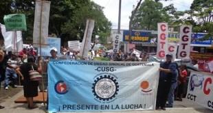 Acción sindical en Guatemala