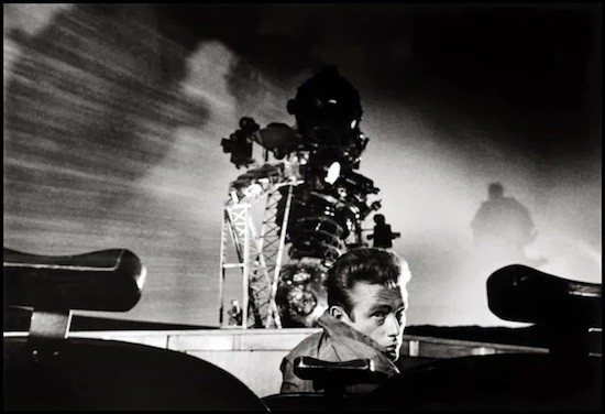 James Dean en Rebelde sin causa de Nicholas Ray. Magnum Photos: Dennis Stock.