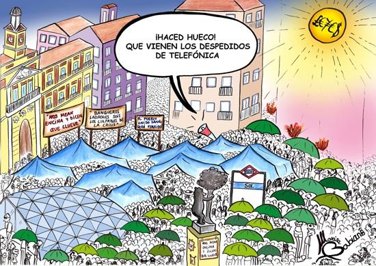 ACAMPADAS Y EL SOL