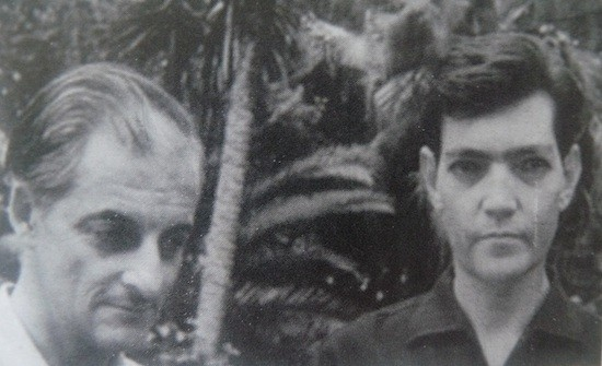 Manuel Antin con Julio Cortazar