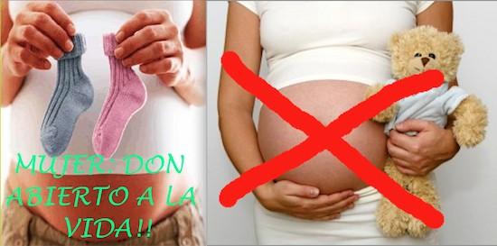 Lo mismo (no aborto) y su contrario (no visibilizar el embarazo de las menores embarazadas)
