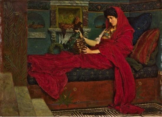 Alma Tadema. Agripina con las cenizas de Germánico. 1866. Col. Pérez Simón, México.jpg