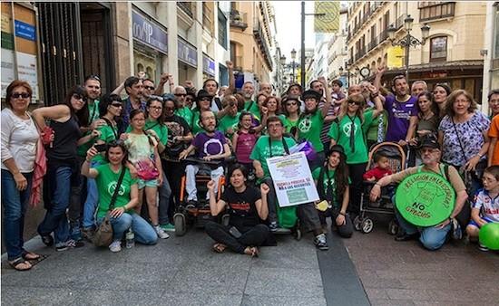 Antonio Aramayona y Pablo Echenique: Podemos estuvo con el perroflauta motorizado, en pro de una educación pública y laica