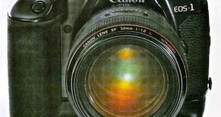 Canon Eos 1con el objetivo normal ultraluminoso 50 mm f/1.0