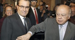 Jordi Pujol con Artur Mas