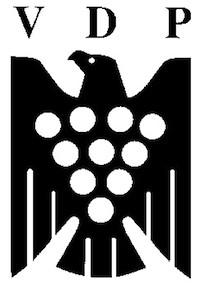 VDP; Verband Deutscher Prädikatsweingüter, asociación alemana de bodegueros de vinos de calidad