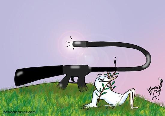 El arma que invita a razonar.