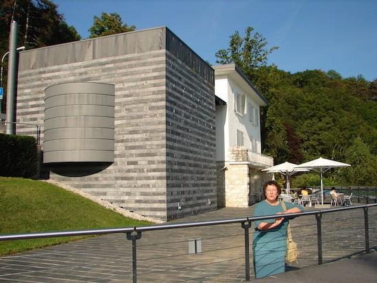 Adriana Bianco: Museo Durrenmatt- Proyecto arquitectonico de Botta