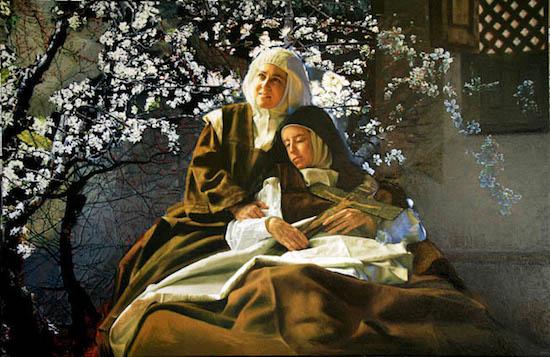 Teresa-Jesus-almendro-florecio