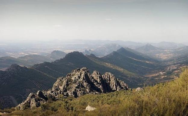 Paisaje de Las Villuercas (Cáceres, Extremadura, España)