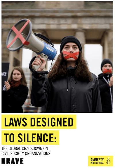 Amnistia silencio ONG