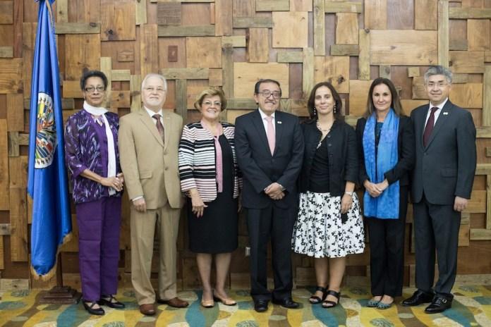 Comisionados de la CIDH en 2018