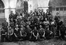 Compañía de la 35 brigada de la UNE