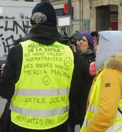 Paris gilets jaunes 2FEB 2019