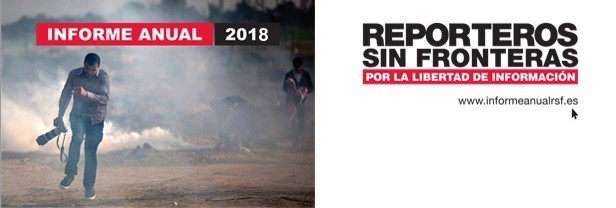 RSF informe anual 2018