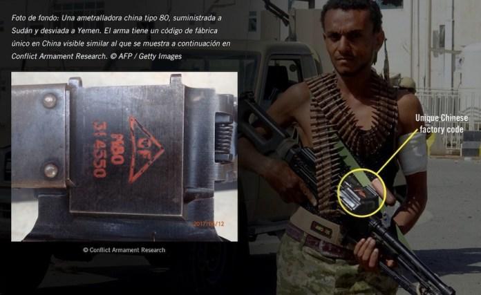 Yemen milicianos armados