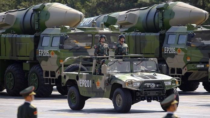 China armamento militares