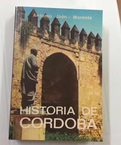 "Portada de la edición facsímil de ""Historia de Córdoba""."