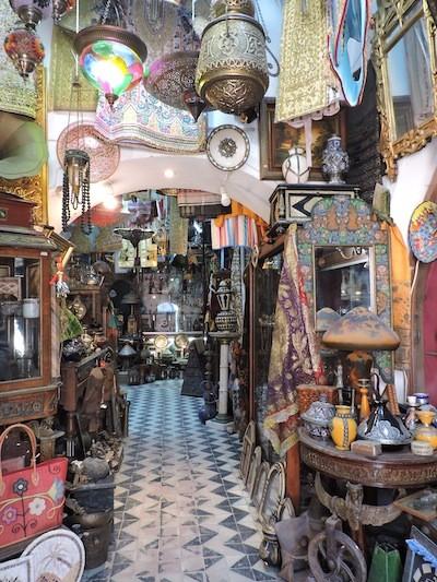 ABianco Túnez Bazar Medina