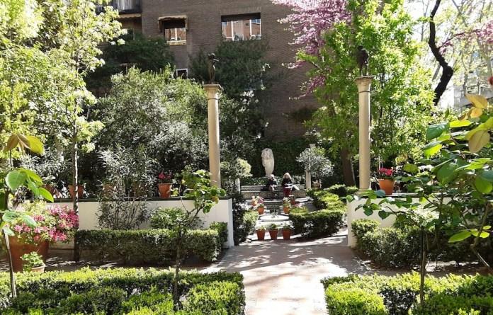 Casa museo Sorolla Madrid jardín