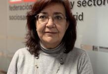 Rosa Cuadrado, secretaria general de CCOO Sanidad Madrid