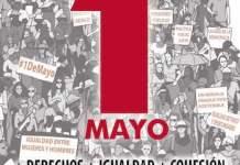 UGT CCOO 1MAY2019 cartel