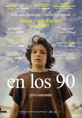 En los 90 cartel