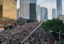 hong kong manifestaciones 2019