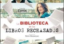 La biblioteca de los libros rechazados cartel