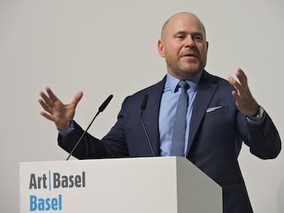Marc Splieger director de Art Basel