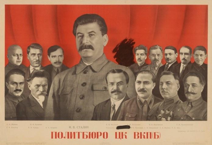 Opera. Gustav Klutsis. Comite central del  Partido Comunista de la Unión Soviética