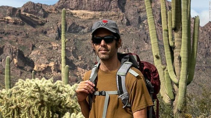 """Scott Warren, voluntario de """"No more deaths"""", en el desierto de Sonora EEUU"""