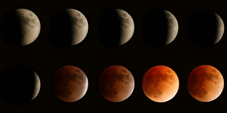 Se podrá ver hoy un eclipse lunar parcial