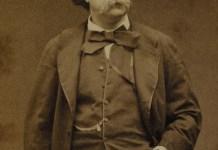Gustave Flauber por Étienne Carjat