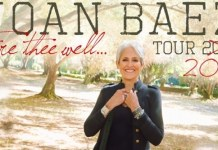 Joan Baez tour 2019 cartel