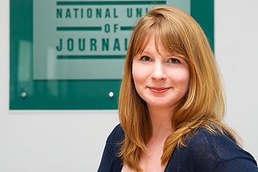 Michelle Stanistret, Secretaria General del NUJ (UK and Ireland)